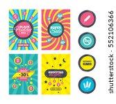 sale website banner templates.... | Shutterstock .eps vector #552106366