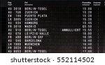 departure schedule airport... | Shutterstock . vector #552114502