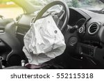 Airbag Exploded At A Car...