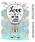love is in the air | Shutterstock .eps vector #552123976