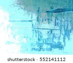 greenish blue color grunge...   Shutterstock . vector #552141112
