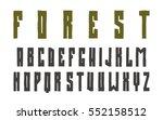 narrow sanserif font in the...   Shutterstock .eps vector #552158512