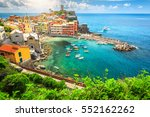 Stunning Panorama Of Vernazza...