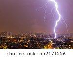 Lightning Storm Over The Sao...