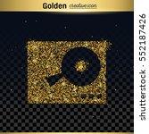 gold glitter vector icon   Shutterstock .eps vector #552187426