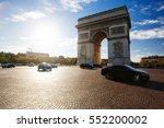 paris   october 6  2016    the... | Shutterstock . vector #552200002