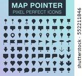 set of pixel perfect map...