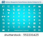business management  training ... | Shutterstock .eps vector #552231625