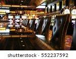casino chairs in las vegas | Shutterstock . vector #552237592