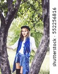 Small photo of Modern Alice in Wonderland