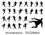 vector football  soccer ... | Shutterstock .eps vector #55228864
