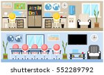 interiors office or working... | Shutterstock .eps vector #552289792