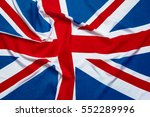flag of uk  british flag | Shutterstock . vector #552289996