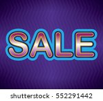 sale background | Shutterstock .eps vector #552291442