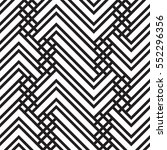 black and white geometric... | Shutterstock .eps vector #552296356