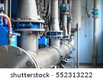 large industrial water... | Shutterstock . vector #552313222