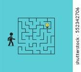 Man In Labyrinth Search Idea...