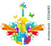 cello  violoncello | Shutterstock .eps vector #55236085