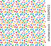 bright color seamless pattern.... | Shutterstock .eps vector #552369022