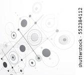 modular bauhaus 3d vector... | Shutterstock .eps vector #552384112
