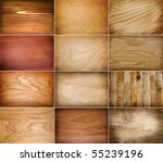 collection of wood background | Shutterstock . vector #55239196