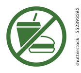 fast food  fat  unhealthy food  ... | Shutterstock .eps vector #552393262