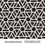 seamless pattern with thin... | Shutterstock .eps vector #552404125