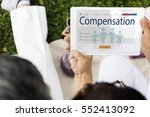 insurance coverage mix...   Shutterstock . vector #552413092