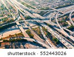 aerial view of a massive... | Shutterstock . vector #552443026