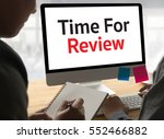 review time business concept  ... | Shutterstock . vector #552466882