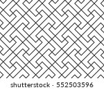the geometric pattern with... | Shutterstock .eps vector #552503596