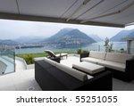 beautiful interior of a modern...   Shutterstock . vector #55251055