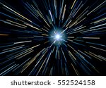 particle or space traveling.... | Shutterstock . vector #552524158