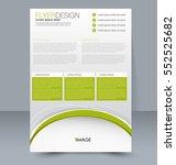 abstract flyer design... | Shutterstock .eps vector #552525682
