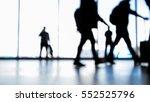passengers going to boarding... | Shutterstock . vector #552525796