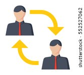 business to business b2b ...   Shutterstock .eps vector #552527062