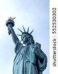 the statue of liberty  nyc. | Shutterstock . vector #552530302
