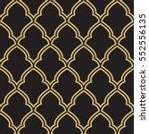 seamless geometric morrocan... | Shutterstock .eps vector #552556135