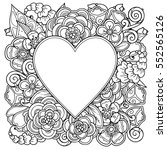 Decorative Love Frame With...