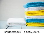 Colorful Cotton Towels On...