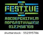 vector of modern stylized... | Shutterstock .eps vector #552595786