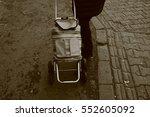 Handcart In Sepia