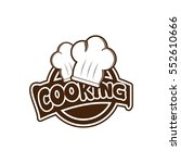 cooking logo design vector | Shutterstock .eps vector #552610666