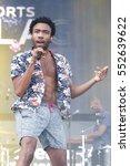 las vegas sep 20  rapper donald ... | Shutterstock . vector #552639622