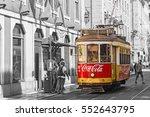 lisbon  portugal  september 9 ... | Shutterstock . vector #552643795