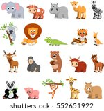 vector illustration vector set... | Shutterstock .eps vector #552651922