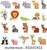 vector illustration vector set... | Shutterstock .eps vector #552651922