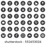 summer icons | Shutterstock .eps vector #552653026