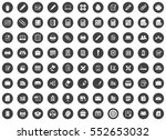 office icons | Shutterstock .eps vector #552653032