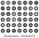 transport icons | Shutterstock .eps vector #552653212